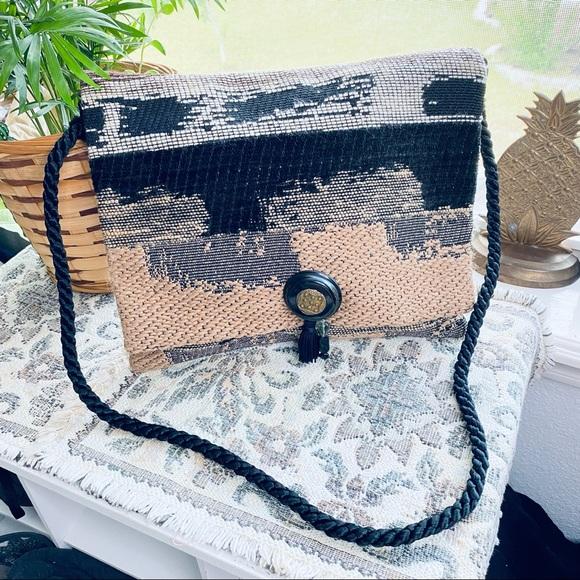VTG Boho Southwestern Desert Tapestry Shoulder Bag